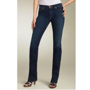 J Brand Straight Leg Ink Dark Wash Jeans